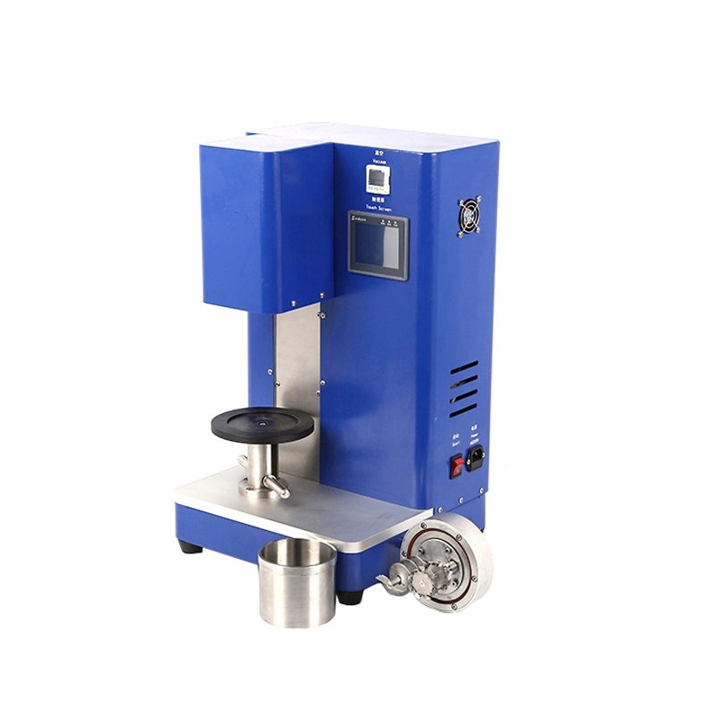 Compact Dual Mixing Shaft Planetary Vacuum Mixer for Battery