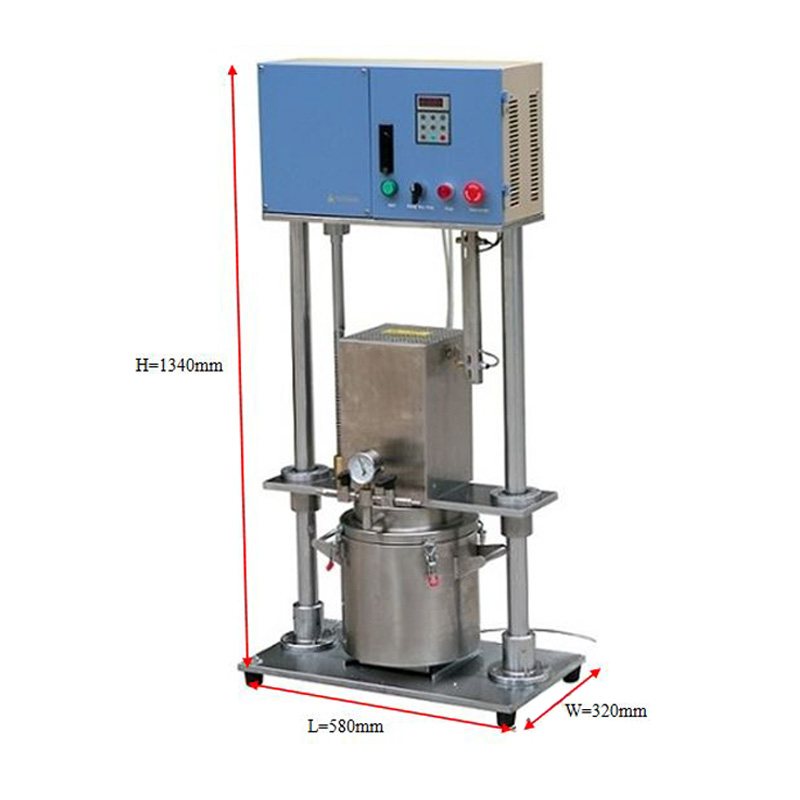 Vacuum Mixing Machine for Lab Battery Slurry