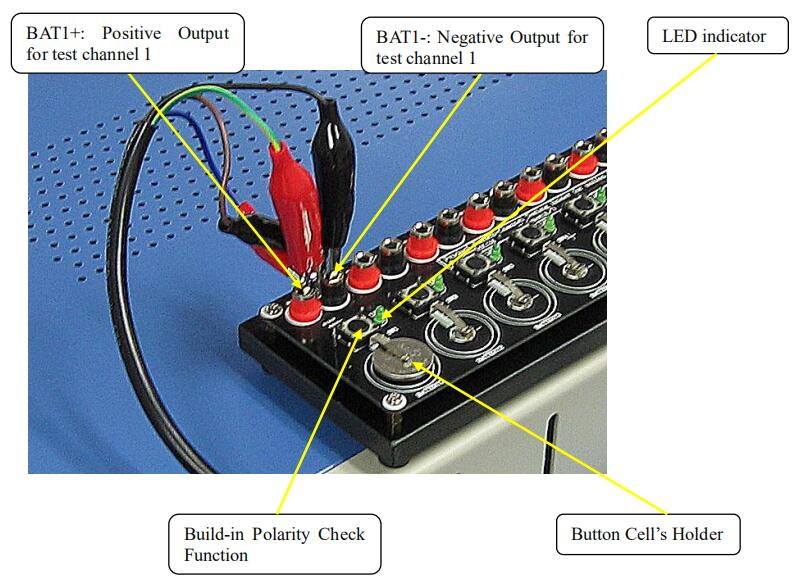 Button Cell Testing Clips for Coin Cell Testers