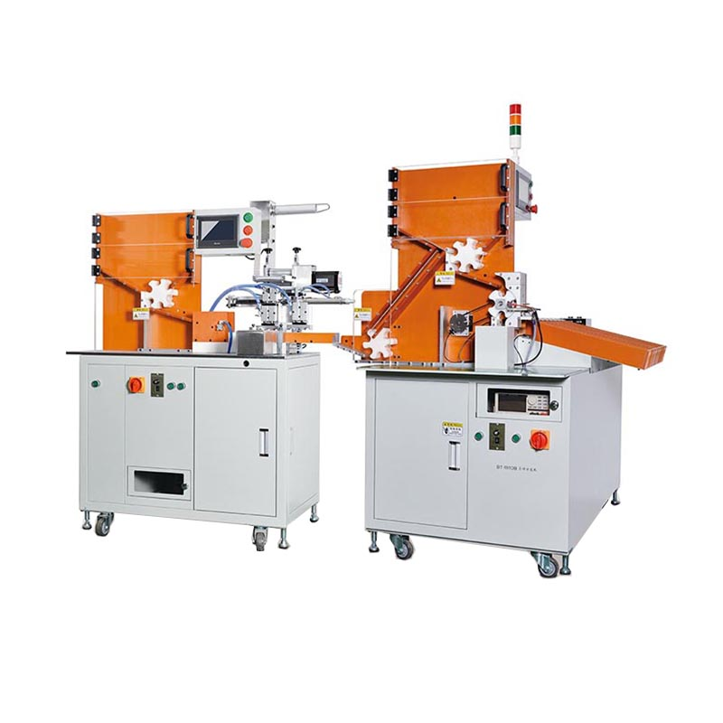 18650 Insulation Paper Sticking Machine and Battery Sorting Machine