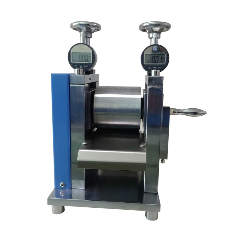 Lab Small Manual Calendering Machine for Electrode Sheet Pressing